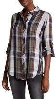 KUT from the Kloth Tabitha Plaid Button Down Shirt