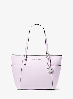 MICHAEL Michael Kors Jet Set Saffiano Leather Top-Zip Tote Bag