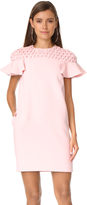 Edit Frill Sleeve Smock Yoke Mini Dress