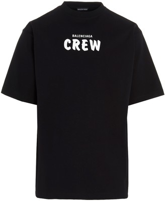 Balenciaga Crew Large Fit T-Shirt