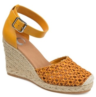 Journee Collection Sierra Espadrille Wedge Sandal