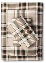 Eddie Bauer Edgewood Plain Flannel Sheet Set