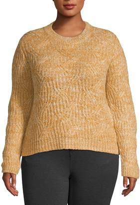Design Lab Plus Pullover Crewneck Sweater