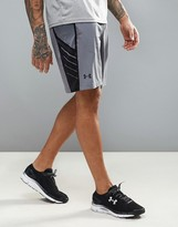 Under Armour Training Supervent Woven Shorts In Grey 1289627-040