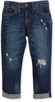 Ralph Lauren Denim Slouch Skinny Jeans, Size 2-4
