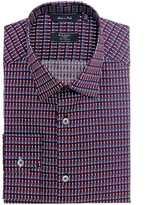 Paul Smith London Tailored Fit Geometric Print Shirt