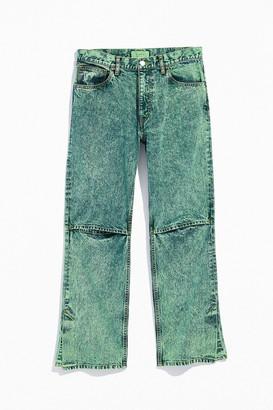 JieDa Split Acid Wash Jean