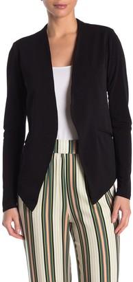 BCBGeneration Tuxedo Knit Crepe Blazer