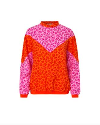 Mads Norgaard Flower Jam Bombella - viscose | orange pink | M . - Orange pink
