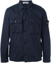 Stone Island chest pocket shirt jacket