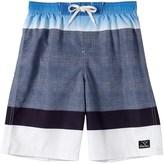 Big Chill Swim Trunks - UPF 50, Built-In Mesh Briefs (For Little Boys)