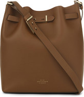 Smythson Albemarle medium leather bucket bag
