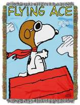 "Peanuts PeanutsTM ""The Flying Ace"" Tapestry Throw"