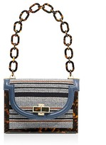 Tory Burch Needlepoint Small Resin Frame Bag