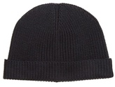 Lemaire Ribbed-knit Wool Beanie Hat