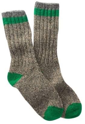 Woolrich Tipped Ragg Crew Socks