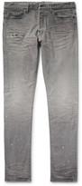 John Elliott - The Cast 2 Slim-Fit Tapered Distressed Denim Jeans