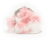 Miu Miu Fox-fur clutch