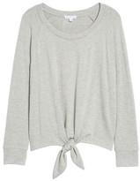 Socialite Women's Tie Front Sweatshirt