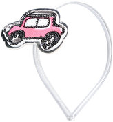 Simonetta car patch headband - kids - Polyester - One Size