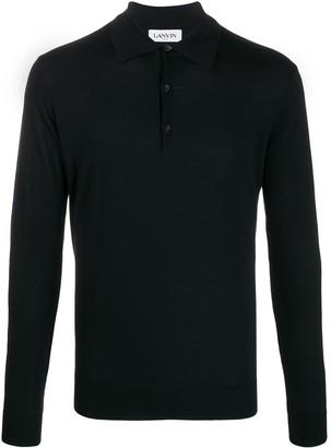 Lanvin Slim-Fit Polo Shirt