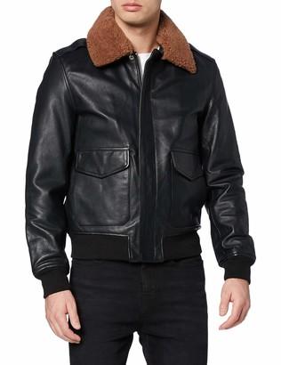 Schott NYC Men's LC2412 Leather Jacket