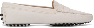 Tod's almond toe flat loafers