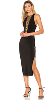 Bec & Bridge Metamorphic Midi Dress in Black