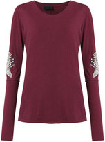 Andrea Bogosian - embroidered top - women - Cotton - P