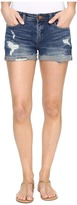 Blank NYC Cuffed Distressed Shorts in Dress Down Party
