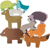 Le Toy Van Forest wooden stacking animals set