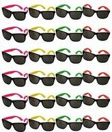 Funny Party Hats TM bulk wholesale Lot - neon Party Sunglasses