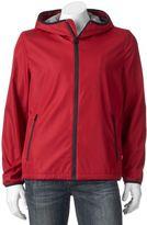 Levi's Men's Water-Resistant Bonded Ripstop Hooded Rain Jacket