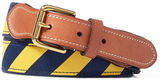 Ralph Lauren Striped Webbed Belt