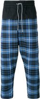 Vivienne Westwood plaid cropped trousers - men - Cotton/Linen/Flax/Spandex/Elastane - 46