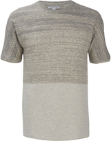 Helmut Lang Gradient Heather Terry Tshirt - Sand