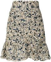 Etoile Isabel Marant mini wrap floral skirt