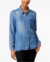 Calvin Klein Jeans Denim Patch Shirt