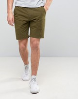 Ps By Paul Smith Chino Shorts Slim Fit In Green