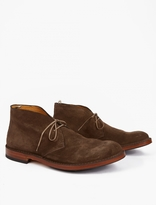 Officine Creative Brown Harvard Desert Boots