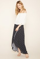 Forever 21 FOREVER 21+ Contemporary Star Maxi Skirt