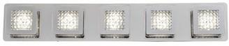 Sabrina Orren Ellis 5-Light LED Bath Bar Orren Ellis