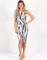 Spicy Sugar Draped Dress