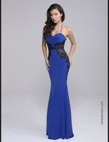 Nina Canacci - 8130 Dress in Royal/Black
