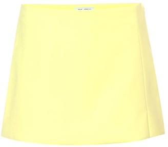 ATTICO The Cotton-blend miniskirt