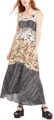 MSK Juniors' Mixed-Print Maxi Dress