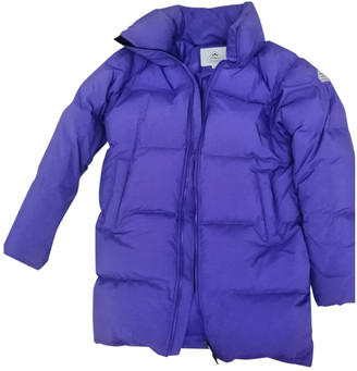Pyrenex Purple Polyester Coats