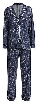Eberjey Women's Two-Piece Sleep Chic Pajama Set