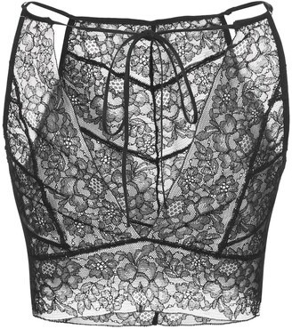 Kiki de Montparnasse Floral Lace Bralette Top