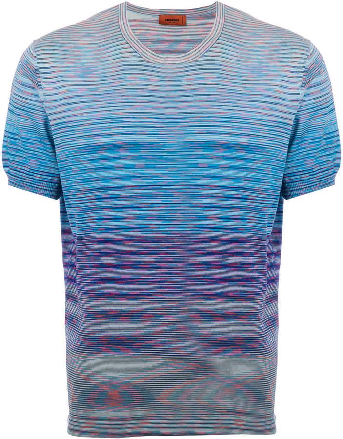 Missoni color block striped T-shirt